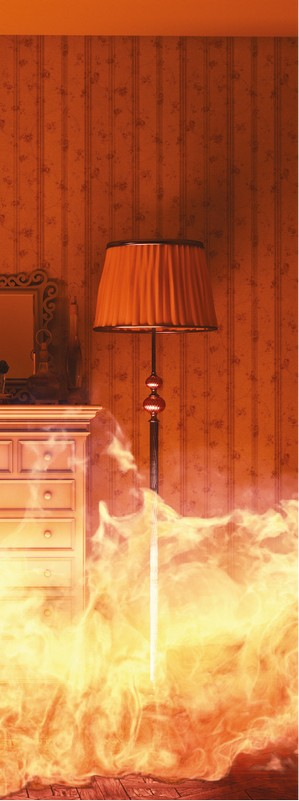 защита от пожара в доме